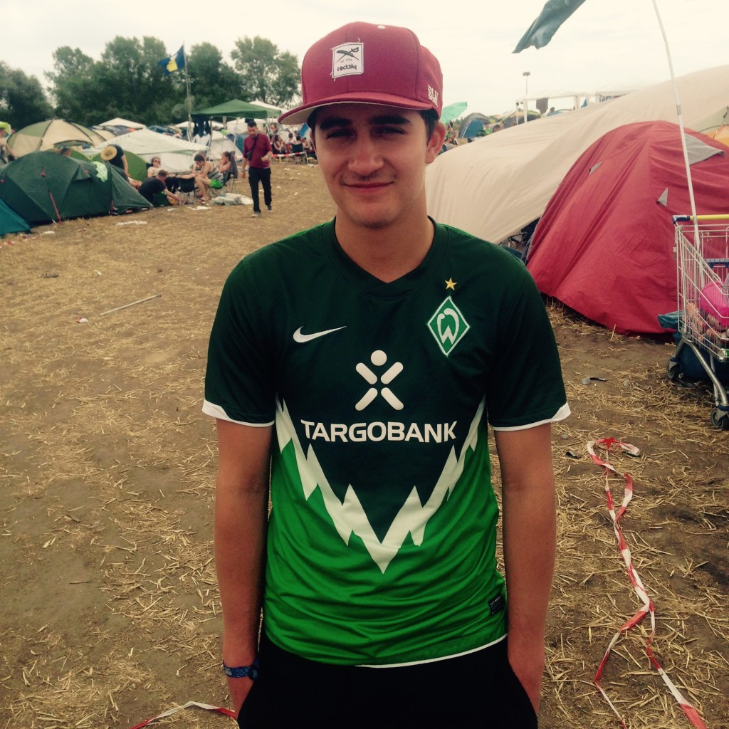 Werder Fan Splash 2015