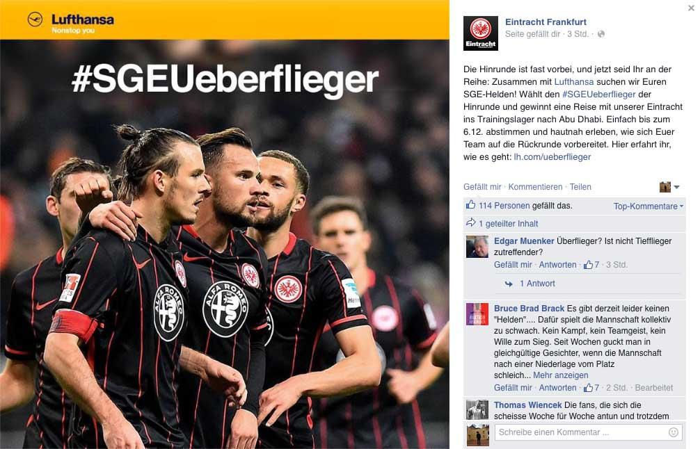 Eintracht-Lufthansa-Gewinnspiel