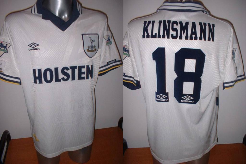 Klinsmann Tottenham Trikot